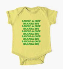 BADOOP-A-DOOP BANANA BUS One Piece - Short Sleeve