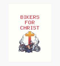bikers for Christ Art Print