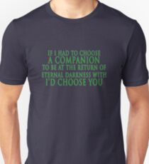 I'd Choose You (Slytherin Colours) T-Shirt