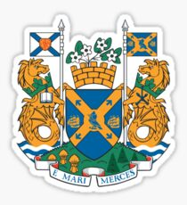 Halifax Coat of Arms  Sticker