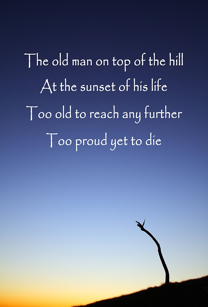 Old man by David Haviland