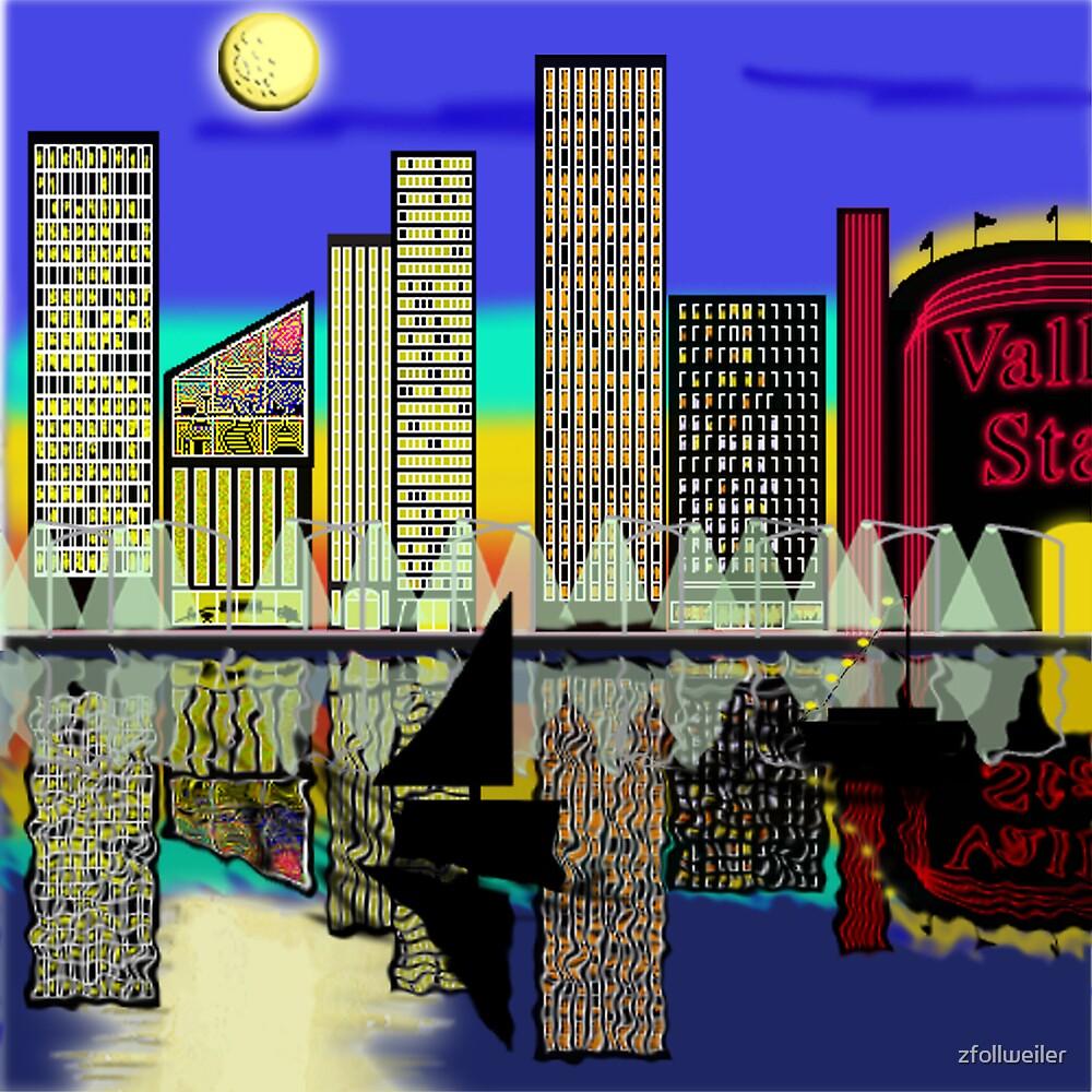 Cityscape by zfollweiler