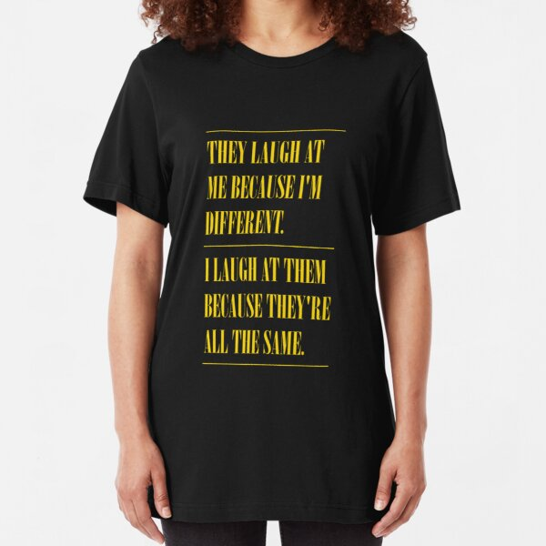 Different / All The Same Slim Fit T-Shirt