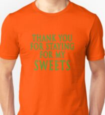 Thank You for Staying (Slytherin Colours) T-Shirt