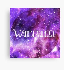 Wanderlust Galaxy Canvas Print