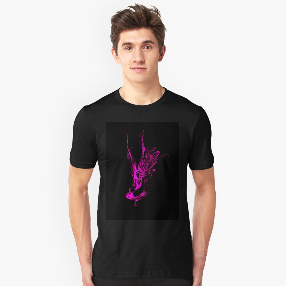 Pink Fairy Unisex T-Shirt Front