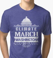 People's Climate Change March on Washington Justice 2017 Tri-blend T-Shirt