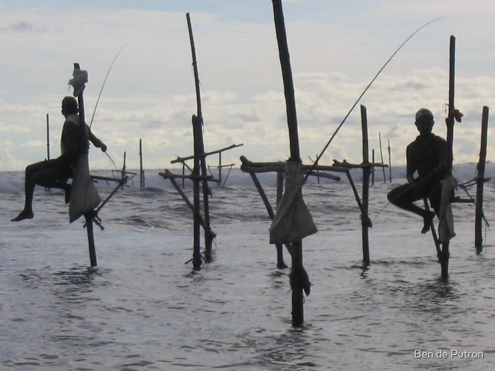 Stilt Fishermen by Ben de Putron