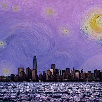 Manhattan - Noche estrellada de cjackvony