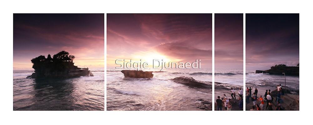 Sunset At Tanah Lot by Sidqie Djunaedi