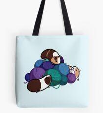Guinea pigs and yarn Tote Bag