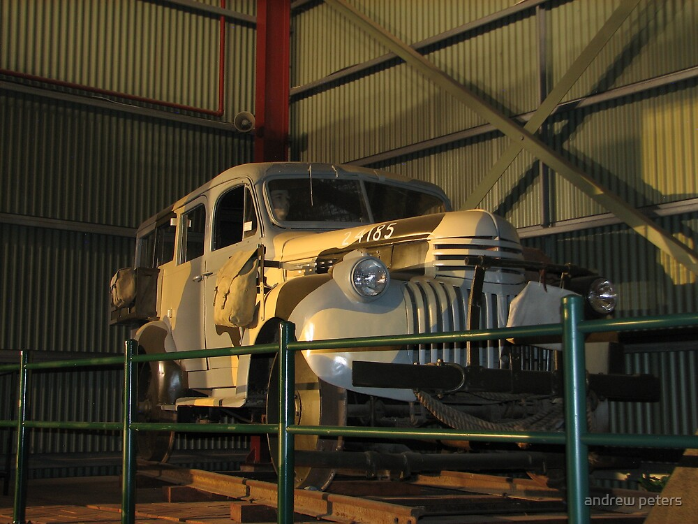 motor inspection car number 4 by andrew peters