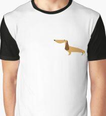 Cute Dachshund Vector Graphic T-Shirt
