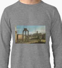 Bernardo Bellotto - Ruins Of The Forum, Rome 1743 Lightweight Sweatshirt