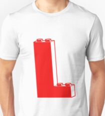 THE LETTER L, by Customize My Minifig Unisex T-Shirt