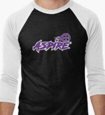 Launceston Aspire Paintball Team (Dark) Men's Baseball ¾ T-Shirt