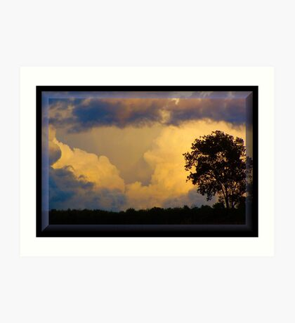 Stormy September Art Print