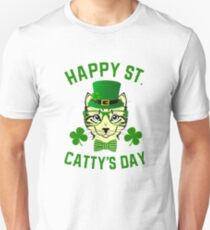 Happy St Catty's Day  T-Shirt