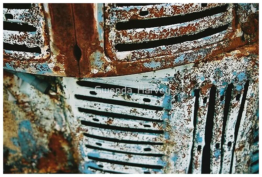 Chev Rust  by Gwenda  Harvey
