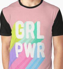 GRL PWR x Pink Graphic T-Shirt