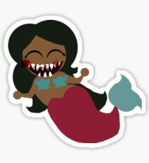 Monster Mermaid Sticker