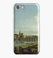 Bernardo Bellotto - View Of Dresden With The Frauenkirche At Left1747 iPhone Case/Skin