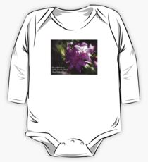 rhododendron with haiku Kids Clothes