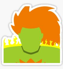 Blanka Vector Sticker