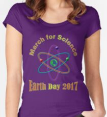 March for Science 2017 Women's Fitted Scoop T-Shirt