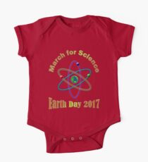 March for Science 2017 One Piece - Short Sleeve