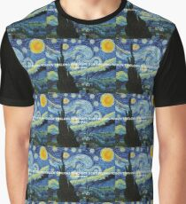 DON'T BELONG TO NO CITY, DON'T BELONG TO NO MAN - STARRY NIGHT Graphic T-Shirt