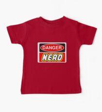 Danger Nerd Sign Baby Tee
