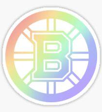 Boston Bruins Pride Sticker