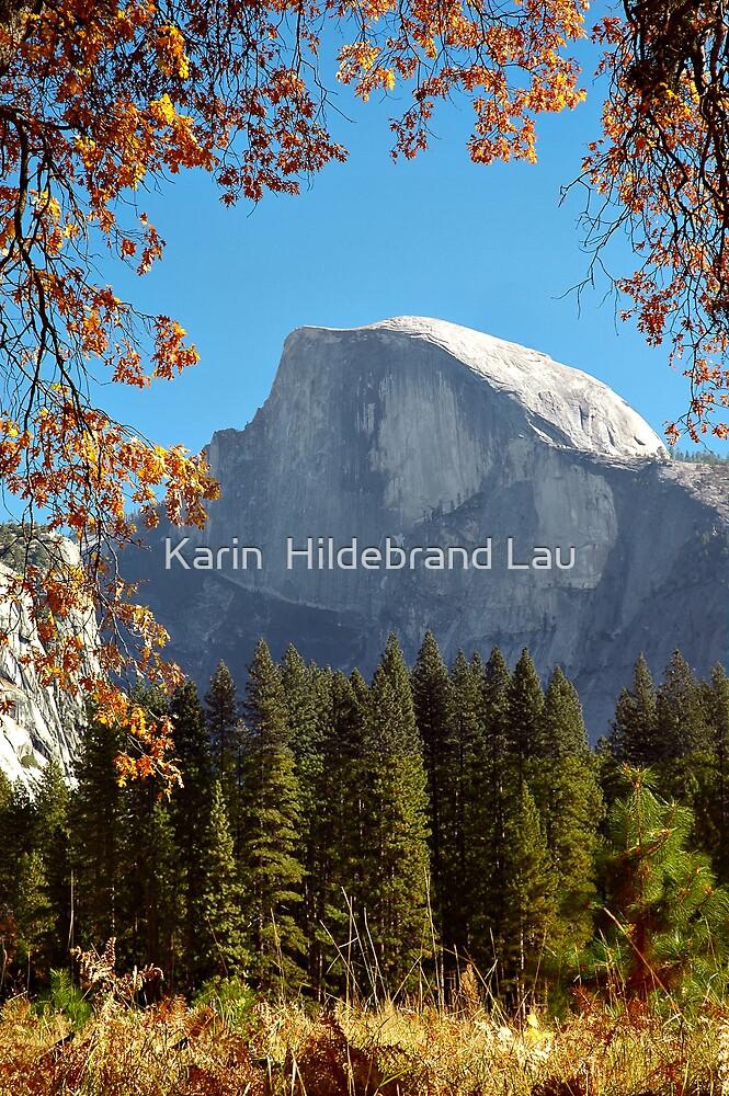 Half Dome  by Karin  Hildebrand Lau