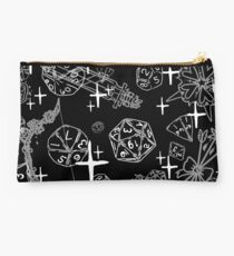 Pretty d&d for Babes Everywhere-Black Studio Pouch