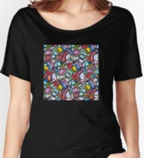 Psychedelic Pink Piggies Women's Relaxed Fit T-Shirt