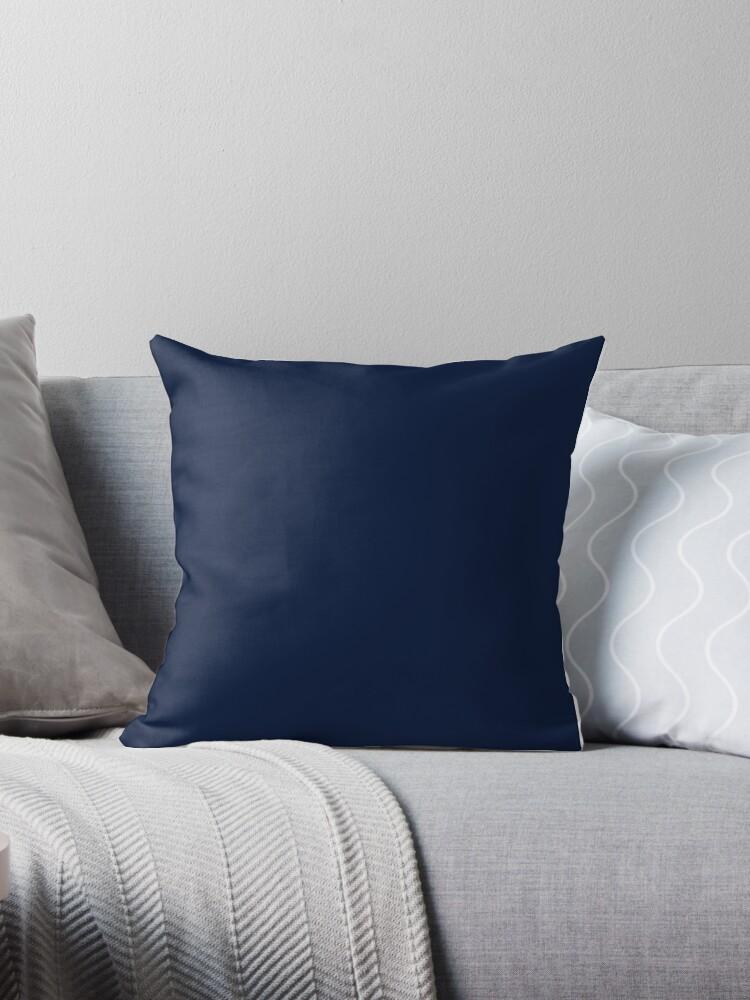 Dark Blue / Maastricht Blue Solid Color by patternplaten