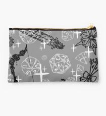 Pretty d&d for babes everywhere-Grey Studio Pouch