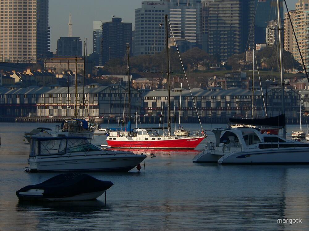 Red Boat by margotk