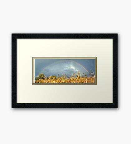 FULL RAINBOW Framed Print