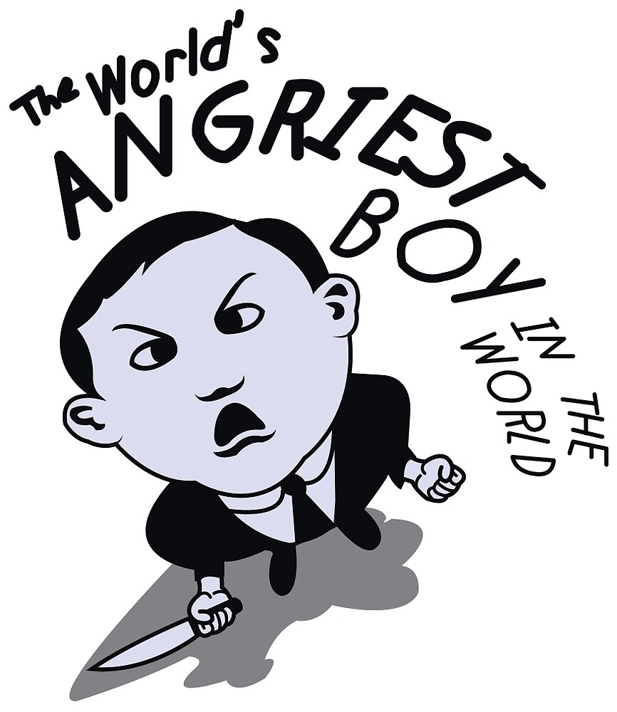 """The World's Angriest Boy In The World"""" by mr-tee 