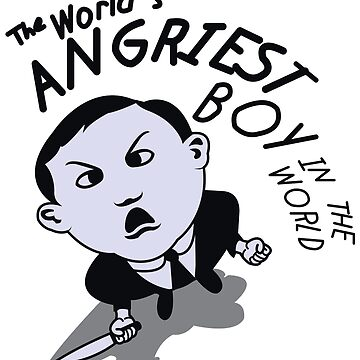The World's Angriest Boy In The World by mr-tee