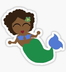 Emerald Mermaid Sticker