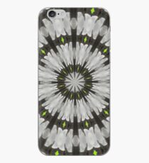 Green diamond feathers iPhone Case