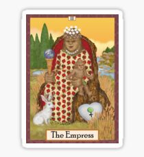 The Empress Cryptozoology Tarot Sticker