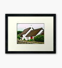 Thatched Cottage, Donegal, Ireland Framed Print