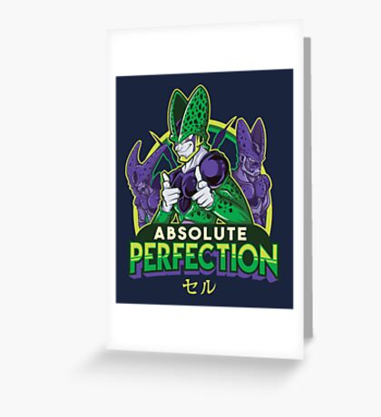 Absolute Perfection Greeting Card