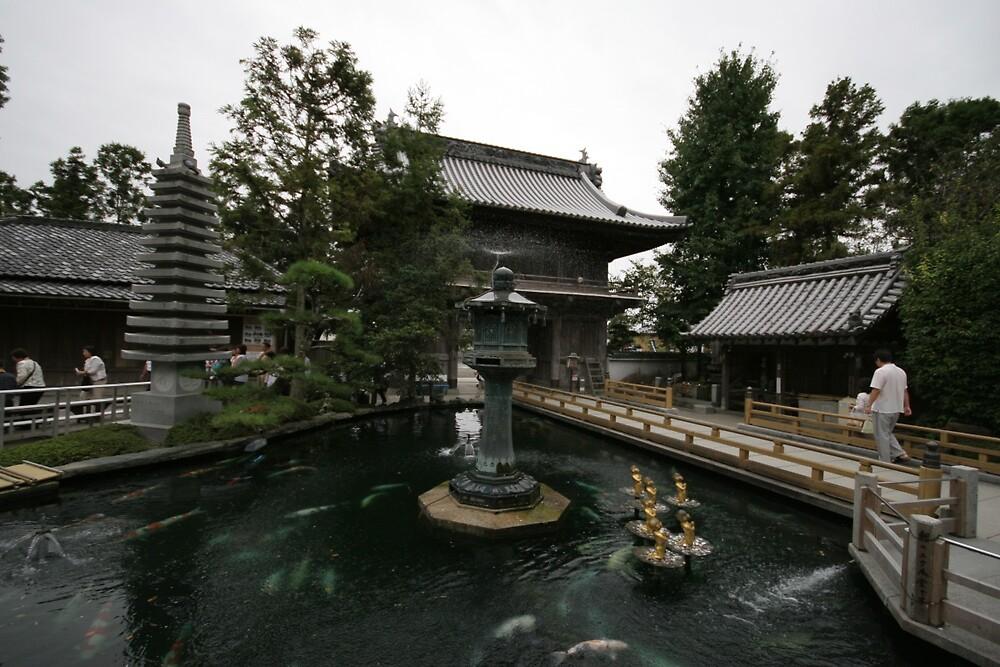 Ryōzenji  Temple - Naruto Tokushima by Trishy