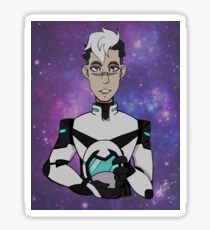 The Head of Voltron Sticker