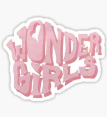 Wonder Girls - Logo Sticker